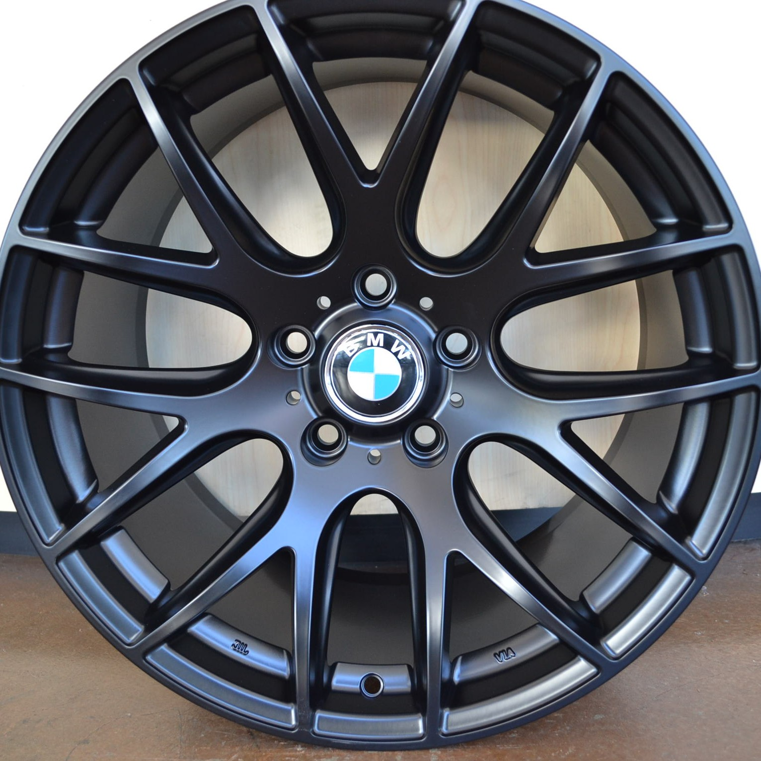 Bmw Wheels Rim 525i 528i 530i 535i 545i 550i Matte Black 19 Quot