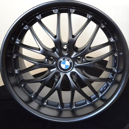 BMW WHEELSRIM E E E Ci I M M Matte Black - Bmw 645ci wheels