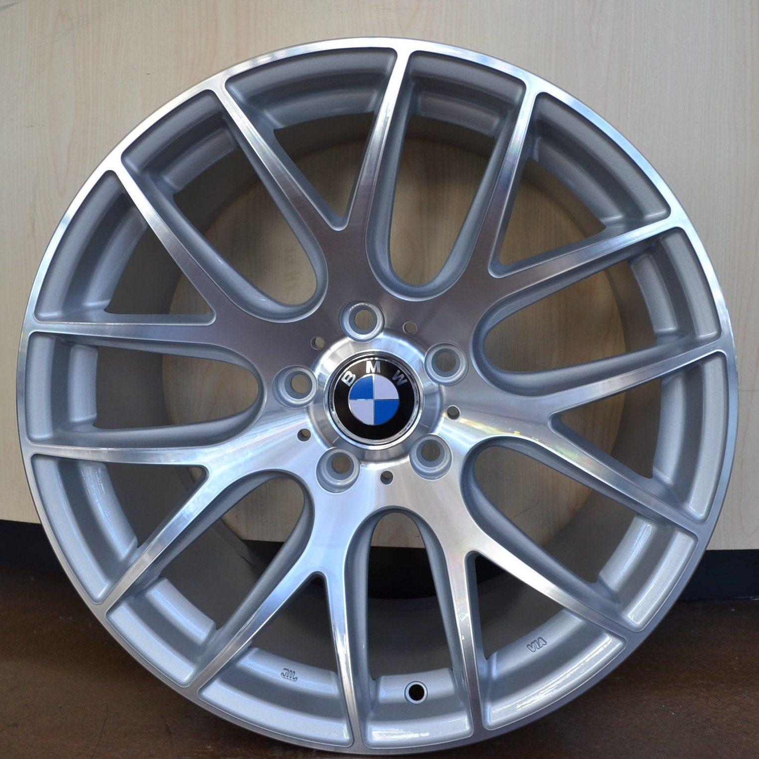 Bmw Wheels Rim 325i 325xi 325ci E46 E90 M3 Hyper Silver Machine Face 18 Quot