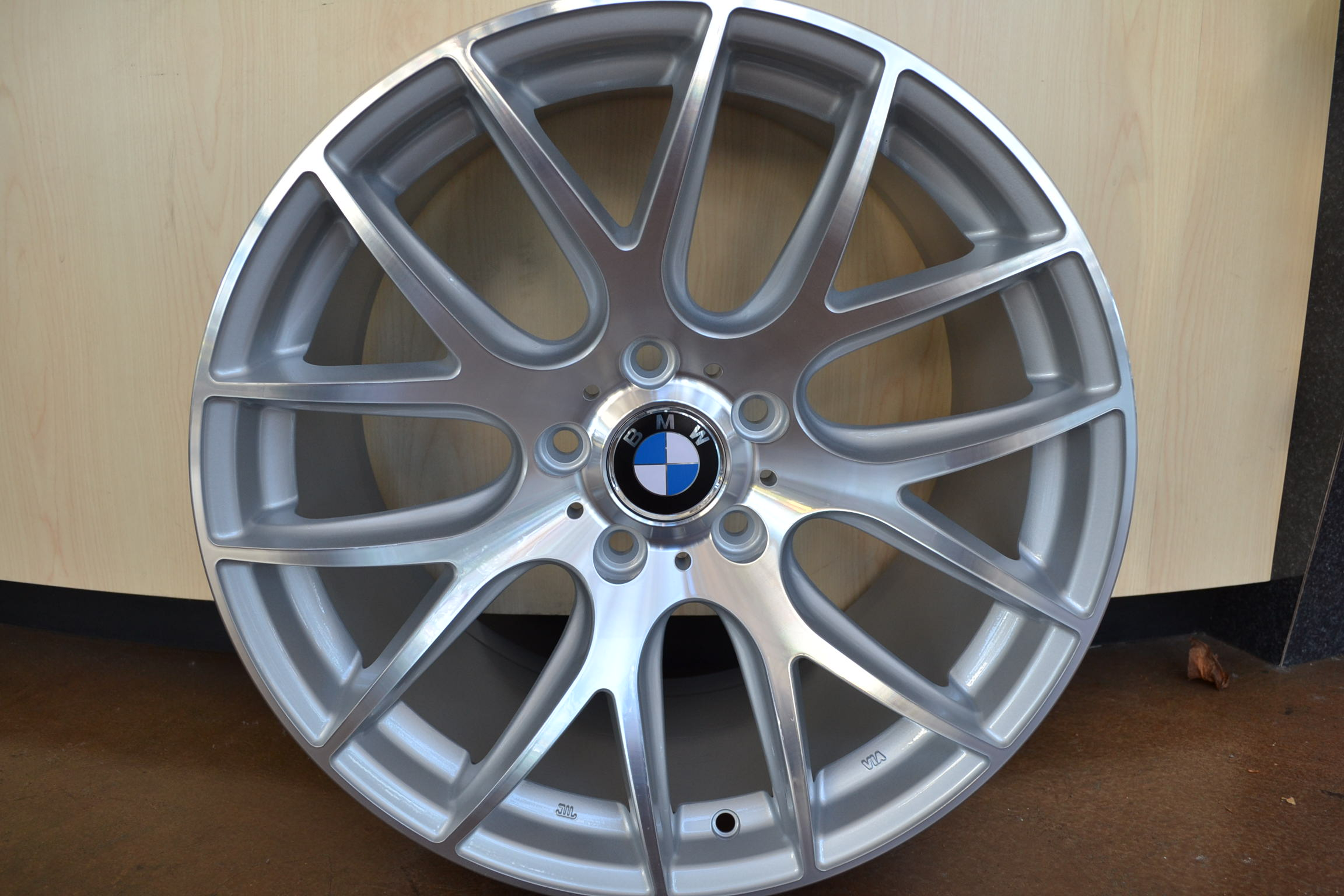 Bmw Wheels Rim 325i 325xi 325ci E46 E90 M3 Hyper Silver Machine Face 18 Quot