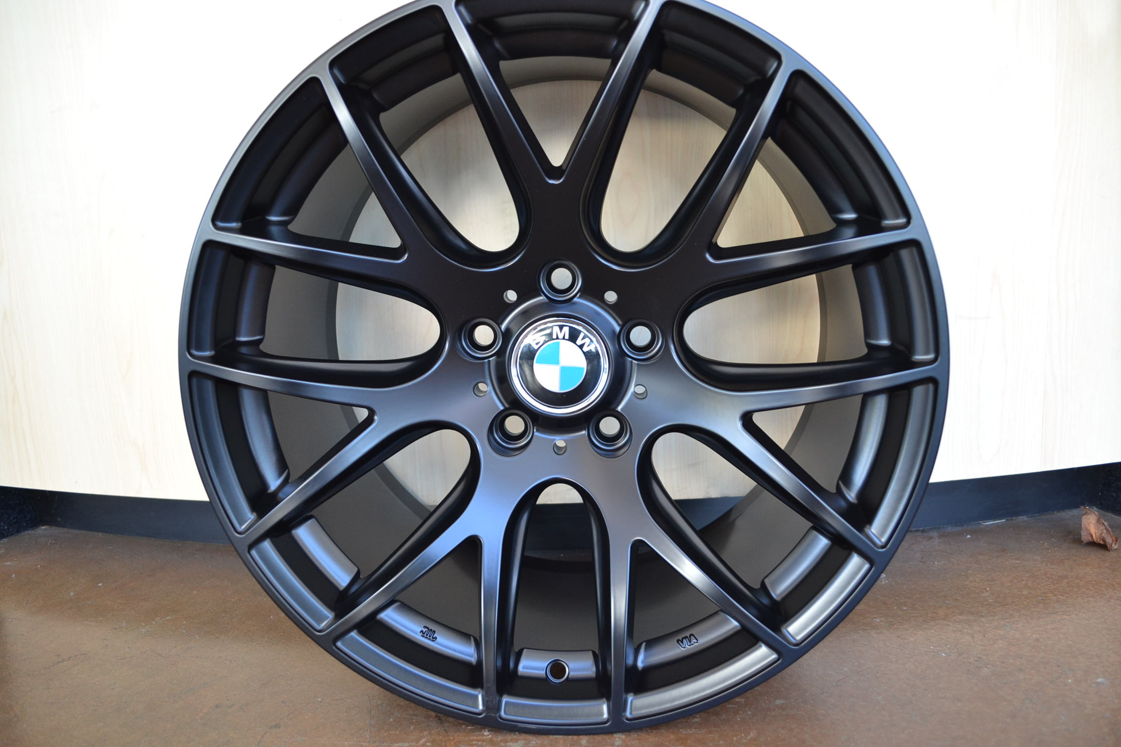 Bmw Wheels Rim 325i 325xi 325ci E46 E90 M3 Matte Black 18 Quot