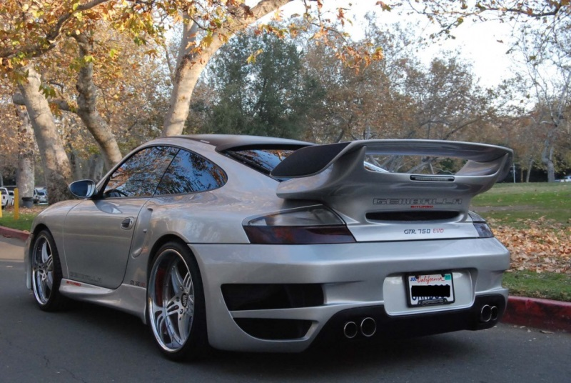 996 turbo body kits rear spoiler wing 996 gemballa rear tail. Black Bedroom Furniture Sets. Home Design Ideas