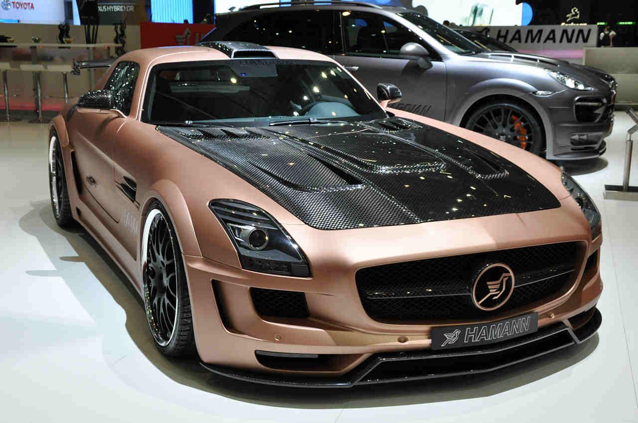 Hamann sls hawk based on mercedes benz sls for Mercedes benz hamann