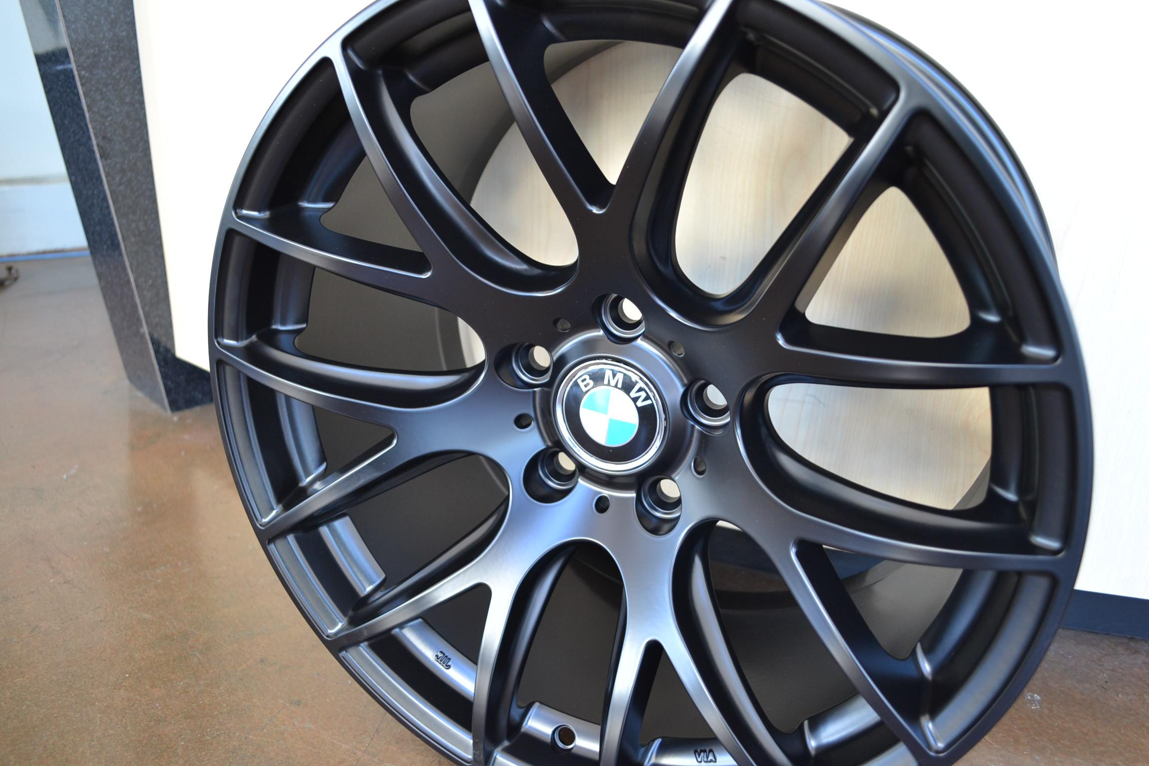 Bmw Wheels Rim 328i 328xi 330i 330ci 330xi X3 Matte Black