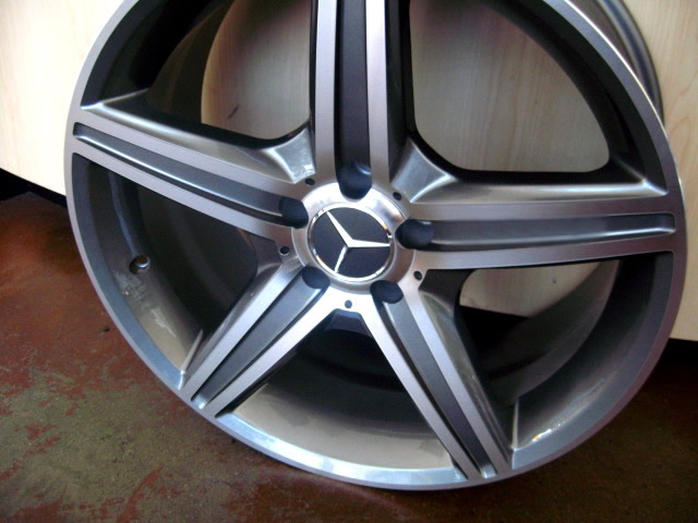 Mercedes wheels rim c230 c240 c280 c300 c320 c350 titanium for Mercedes benz c240 wheels