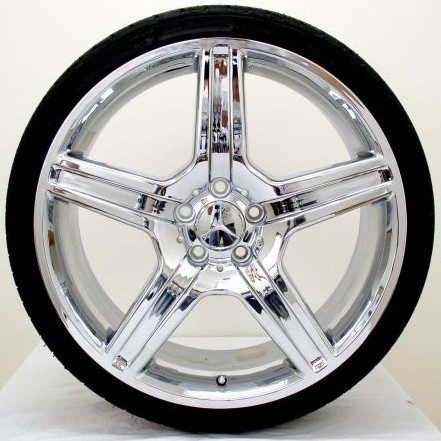 Mercedes wheels rim c230 c240 c280 c300 c320 c350 chrome 19 for Mercedes benz c240 wheels