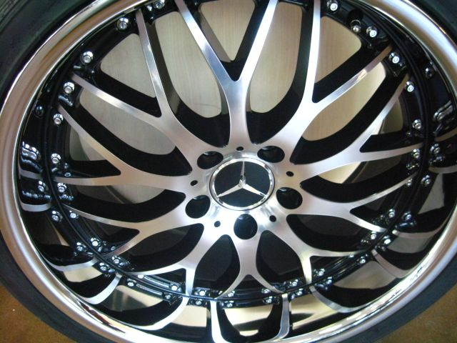 Mercedes wheels rim c230 c240 c280 c300 c320 c350 diamond for Mercedes benz c240 rims