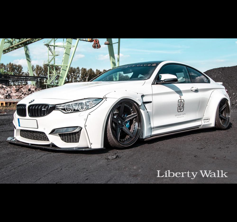 Liberty Walk Lb Performance Bmw M4 Works Body Kit Cfrp