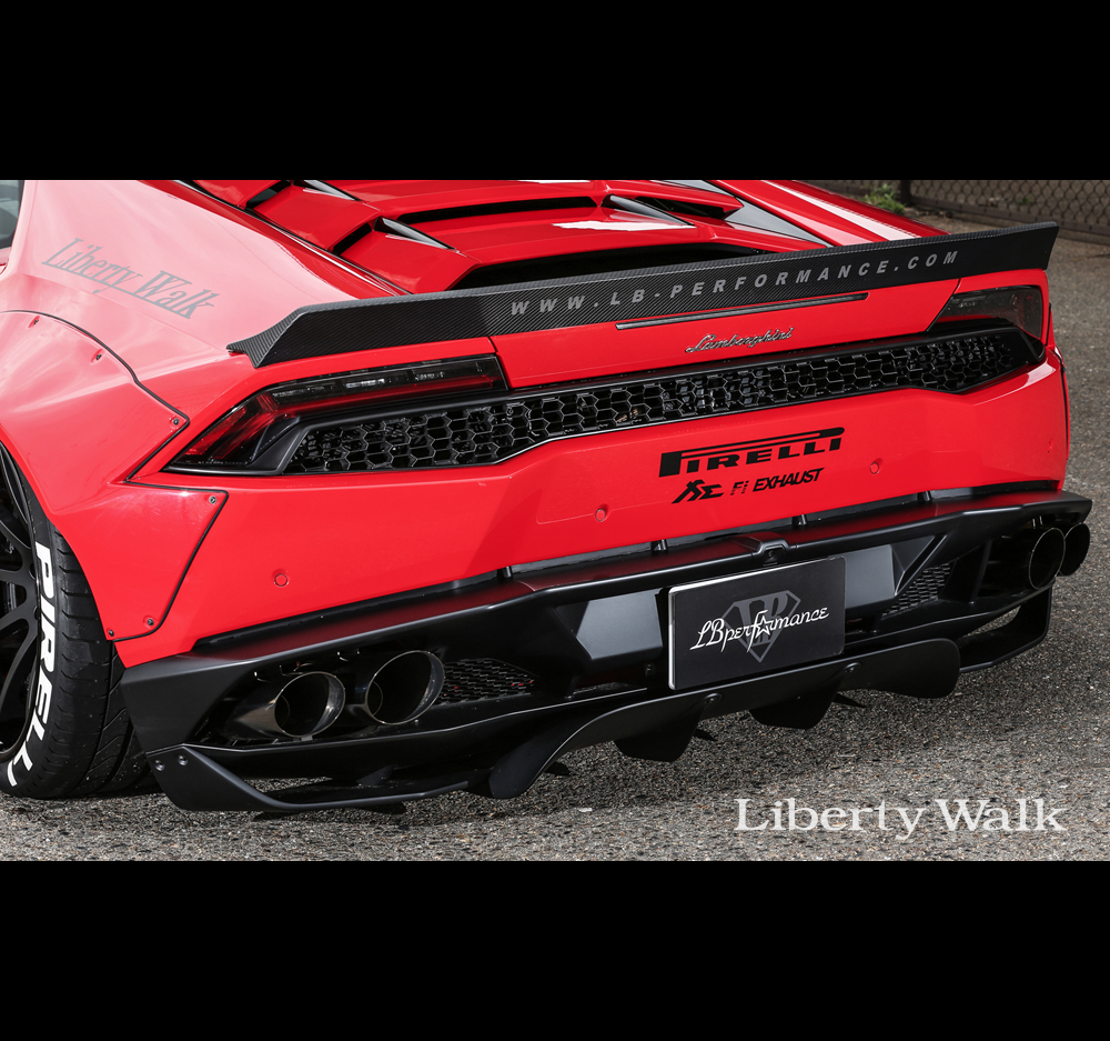 liberty walk lb performance lamborghini huracan body kit ver 2 cfrp. Black Bedroom Furniture Sets. Home Design Ideas