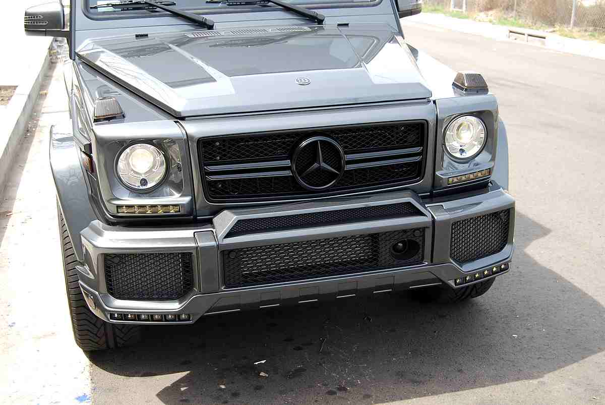 Brabus mercedes benz g class widestar kit my 05 11 for Mercedes benz g class brabus