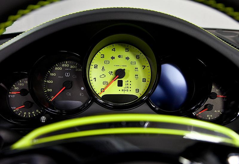 TECHART Instrument Dials (custom color) For The Porsche 911 991