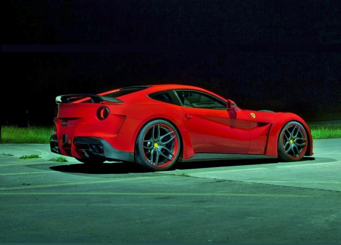 Novitec Complete Aerodynamic Kit For Ferrari F12 N Largo