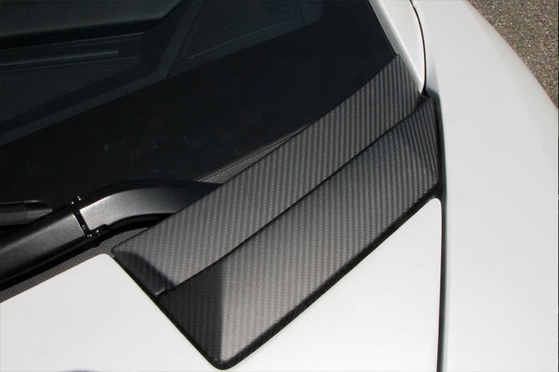 Novitec Lamborghini Aventador Carbon Front Trunk Lid Air Outlet