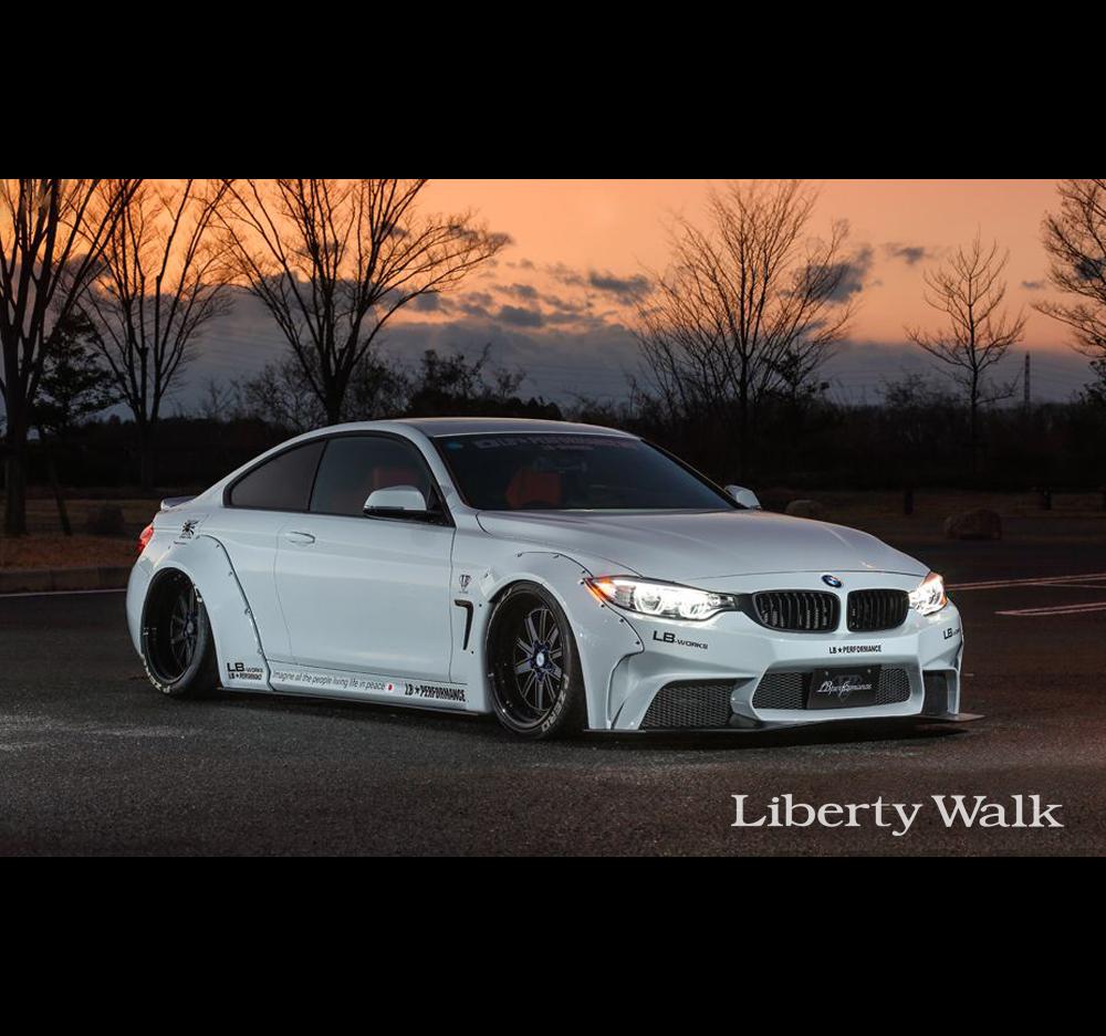 Liberty Walk/LB Performance BMW 4 Series LB Front Bumper