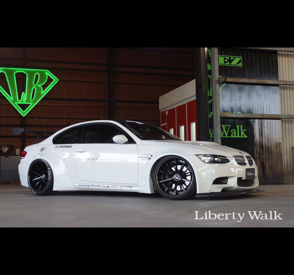 Liberty Walk Lb Performance Bmw M3 E92 Works Body Kit Ver 1 Set