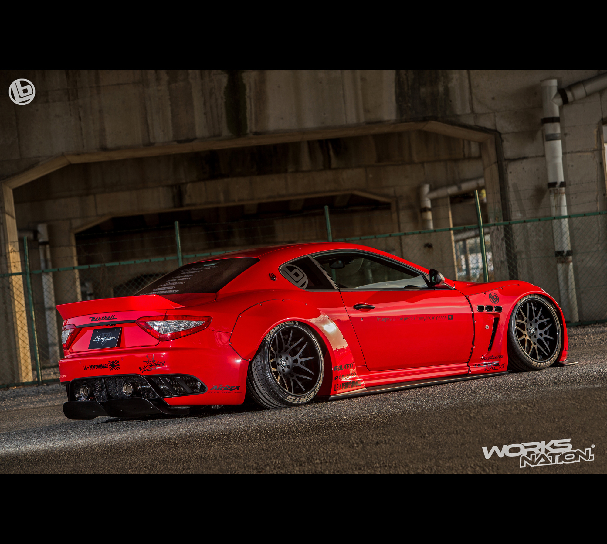2016 Porsche Cayman S Review >> Liberty Walk/LB Performance Maserati Granturismo Wide Body Kit [FRP]
