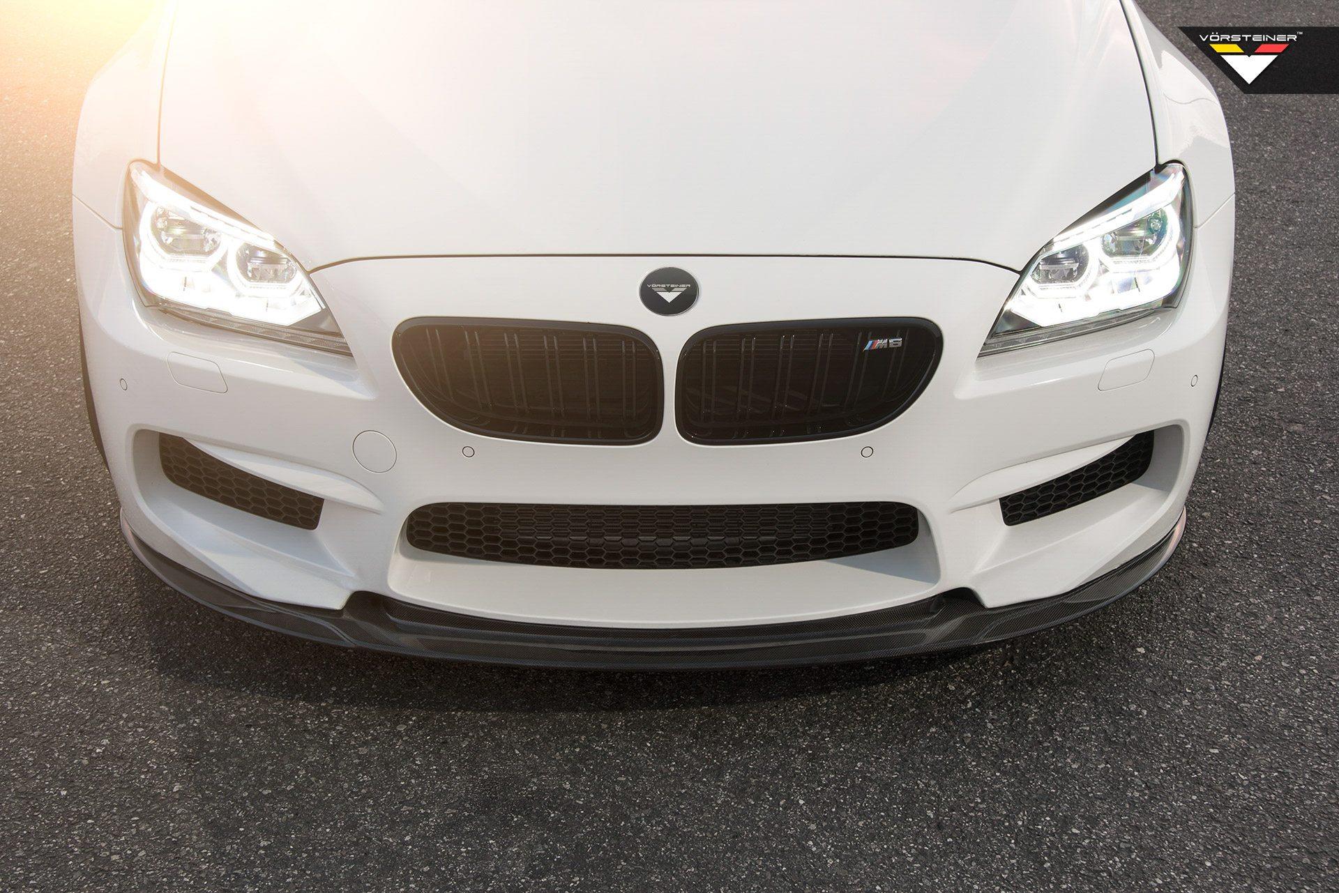 Vrs Aero Front Add On Spoiler Carbon Fiber Pp 1x1 Glossy Bmw F30 3