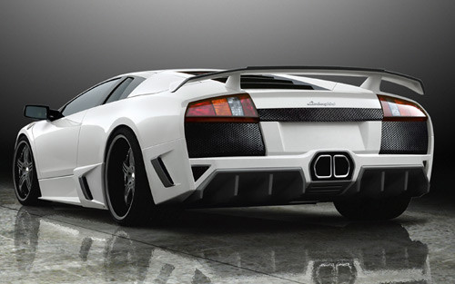 Premier 4509 Lamborghini Murcielago Ver I Cf Wing For Body Kits