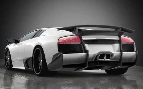 Premier 4509 Lamborghini Murcielago Lp640 Ver Ii Rear Bumper For