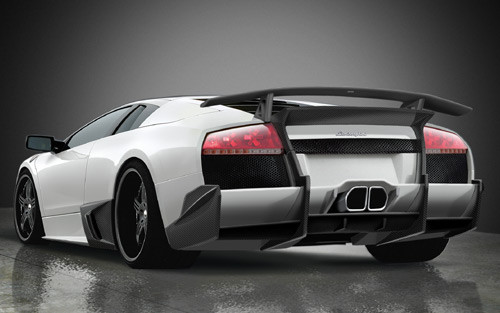 Premier 4509 Lamborghini Murcielago Lp640 Ver Ii Rear Wing For Body Kits